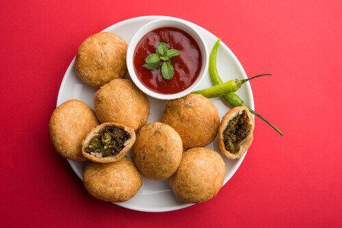 Kachori, a traditional Holi festival food in India.