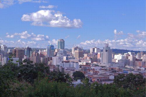 Harare City, the capital of Zimbabwe.