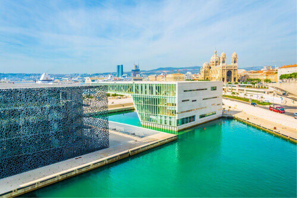 The Mucem Museum of European and Mediterranean Civilisations in Marseille.