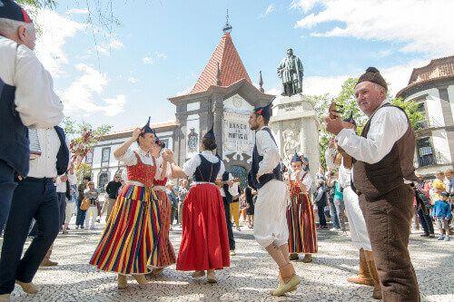 The Madeira Spring Flower Festival.