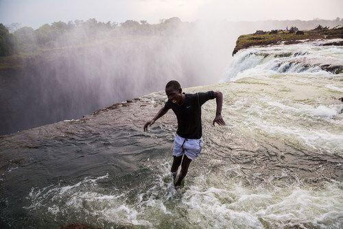 Devil's Pool at Victoria Falls.