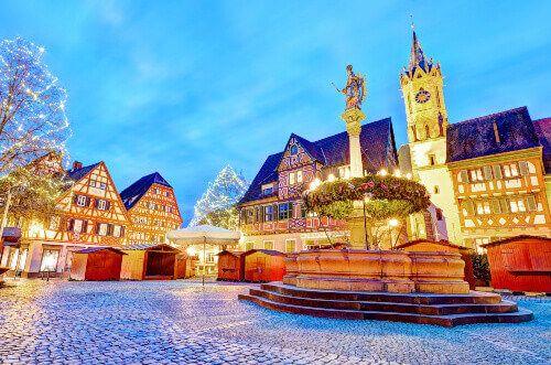 The famous Heidelberg Christmas Market.