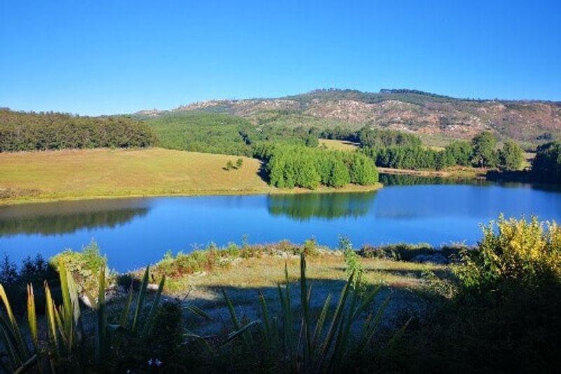 Landscape view of Troutbeck Resort in Nyanga, Zimbabwe.