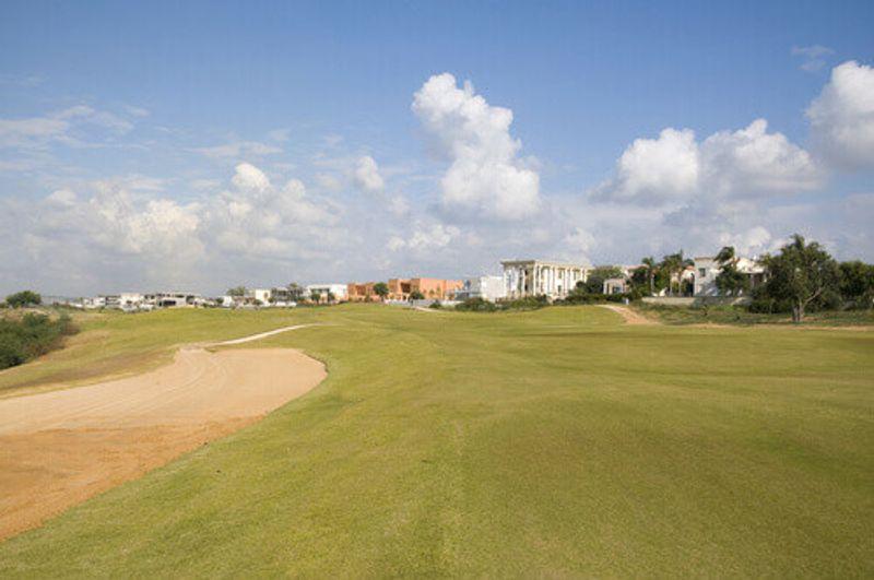 Caesarea golf course in Caesarea Israel