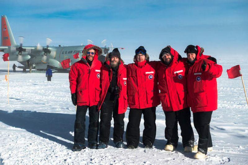 Ralf in Antarctica