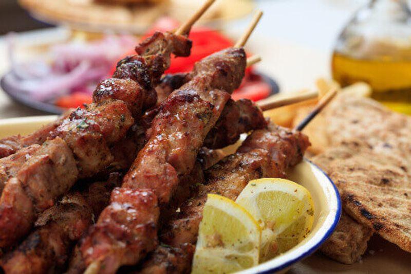 Souvlaki is a versatile meat based Greek dish.