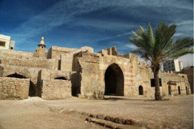 Aqaba or Mamluk Fort Aqaba, Jordan.