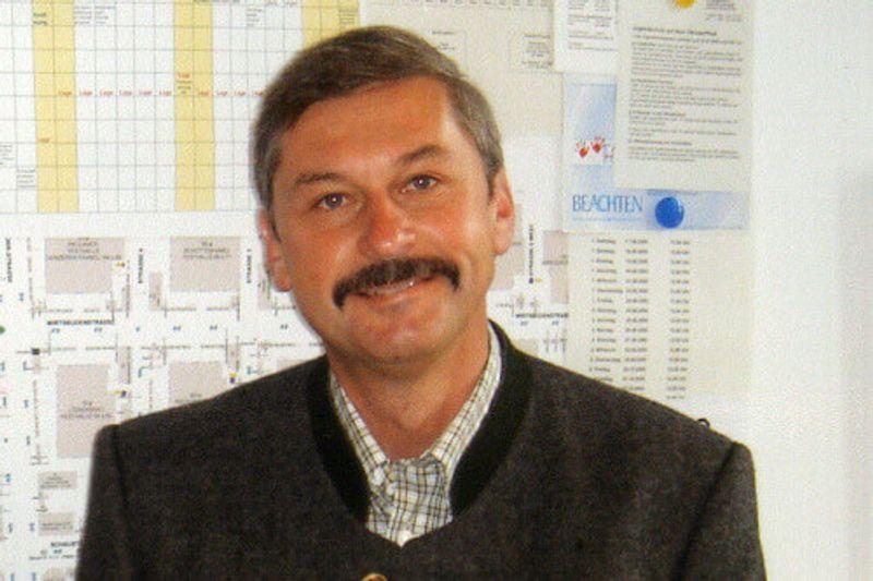 Oktoberfest organiser Hans Spindler.