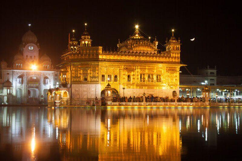 The Golden Temple or Harmandir Sahib also known as Darbar Sahib in Amritsar, Punjab, India.