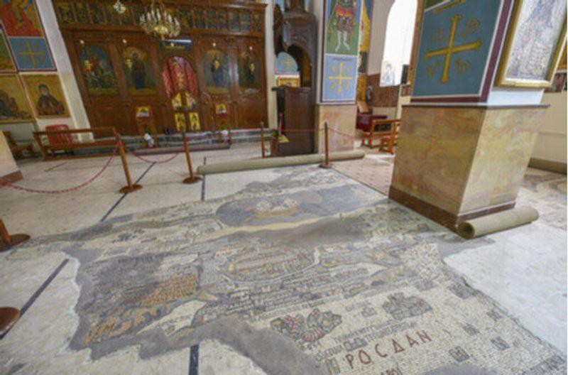 Interior of the Saint George of Madaba.