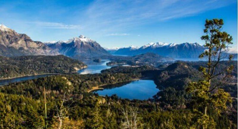 The picturesque Nahuel Huapi, Argentina.