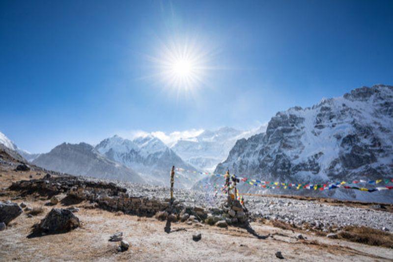 The Kanchenjunga Base Camp, Nepal.