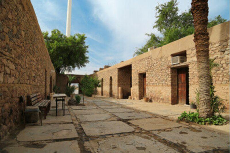 The Aqaba Archaeological Museum in Jordan.
