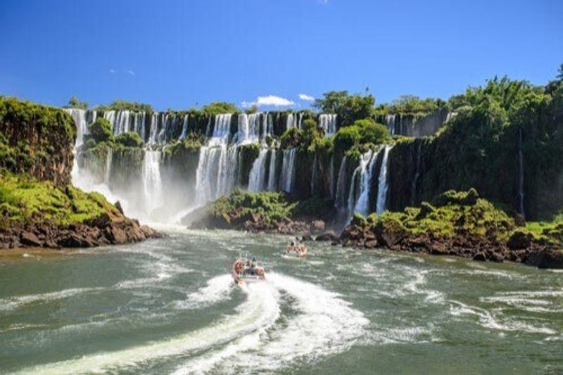 The stunning Iguazu Falls, Argentina.